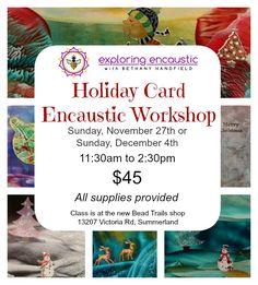Encaustic Holiday Card Workshop