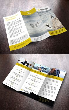 brochure design of coaching company, Business entertainer