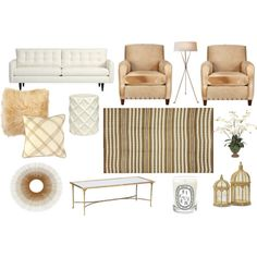 Erin Gates Elements of Style moodboard neutral texture living room