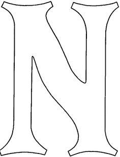 MOLDES DE LETRAS Alphabet Letter Templates, 3d Alphabet, Alphabet Stencils, Quilling, Letter C Coloring Pages, Applique Letters, Cardboard Box Crafts, Hand Lettering Alphabet, Letters And Numbers