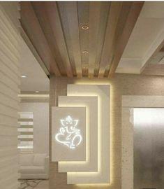 Wonderful Tips: False Ceiling Lights Offices false ceiling grey. Home Interior Design, Lobby Design, Wall Design, House Interior Decor, Foyer Design, Room Door Design, Pooja Room Design, Ceiling Design, Living Room Designs