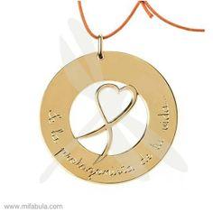 Con este collar, donamos un 30% a la Fundación Sandra Ibarra de lucha contra el cáncer. Entra en mifabula.com