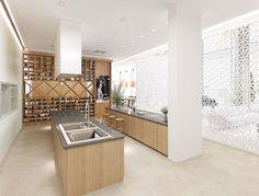 Modern Kitchen Design - designed by Swiss Bureau Interior Design LLC