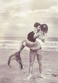 he held her like a seashell & listened to her heart #mermaid