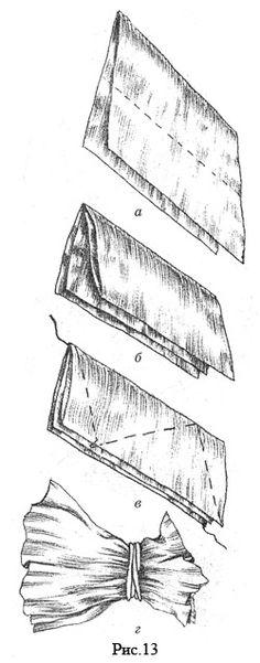 shibori folding technique