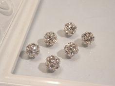 Swarovski Elements Rhinestone 8mm Beads 5201 by houseofTROCK, $10.00