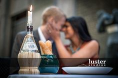 """Disney inspired """"Lady and the Tramp"""" engagement photos. (Photos by Craig Carpenter of Luster Studios)"""