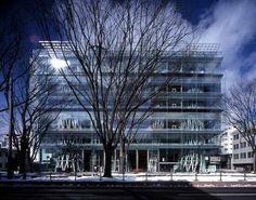 Médiathèque de Sendai. Japon - Toyo Ito