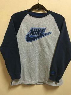 Vintage 90's Nike Air Blue Grey Black Sport by VintageShowroomCo