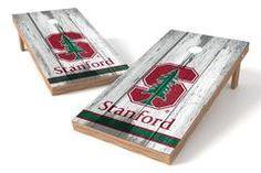 Stanford Cardinal Single Cornhole Board - Vintage