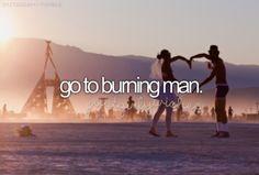 Bucketlist: Burning man