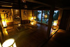 The interior of Chiiori, the house Alex Kerr bought in the Iya Valley, Tokushima, #Japan