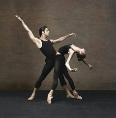 .Polina Semionova and Marcelo Gomes in Alexei Ratmansky World Premiere /photo by Fabrizio Ferri