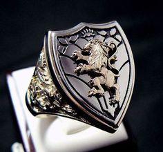 Anéis/Rings Masculinos/Tomboy- Batalhas / Imagem: Pinterest / Reprodução