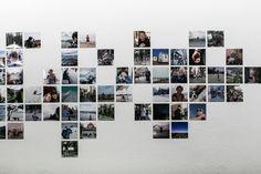 Nautilus, Wall Design, Photo Wall, Layout, Interior Design, Frame, Twiggy, Kate Moss, Bedroom Ideas