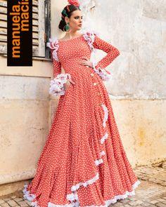 Modest Dresses, Dance Dresses, Simple Dresses, Simple Frock Design, Simple Frocks, Flamenco Costume, Fiesta Outfit, Flamingo Dress, Kids Gown