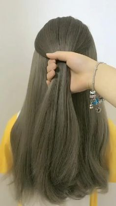 Fashion Hairstyle Tutorial 1 Easy Hairstyle Video, Ponytail Hairstyles Tutorial, Long Hair Video, Bun Hairstyles For Long Hair, Short Hair Updo, Braids For Long Hair, Braided Hairstyles, Wedding Hairstyles, Hair Upstyles