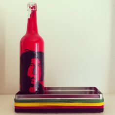 :) Recycled Bottles, Hot Sauce Bottles, Recycling, Jar, Home Decor, Recycle Bottles, Recyle, Jars, Repurpose
