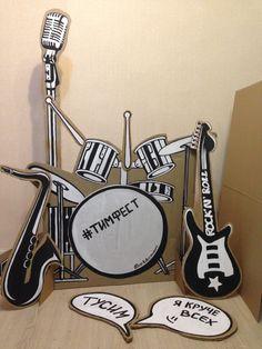 Rock star decor craft