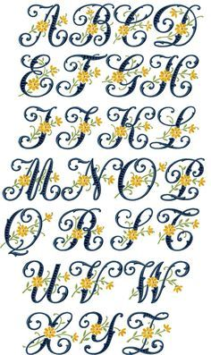 Paper Embroidery Patterns lettering - Floral Cutwork machine embroidery designs alphabet Natural Size: All Symbols: Embroidery Alphabet, Embroidery Shop, Embroidery Monogram, Paper Embroidery, Learn Embroidery, Machine Embroidery Patterns, Silk Ribbon Embroidery, Embroidery Fonts, Vintage Embroidery