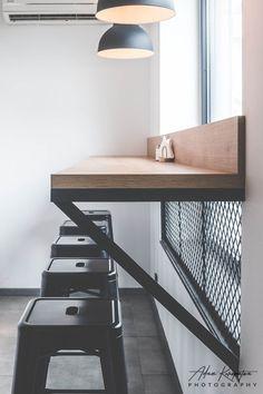 Small Restaurant Design, Deco Restaurant, Restaurant Interior Design, Bistro Interior, Bistro Decor, Cafe Shop Design, Coffee Shop Interior Design, House Design, Blitz Design