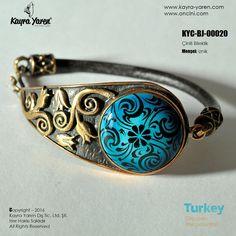 Çini Takı - Bileklik Bangle Bracelets, Bangles, Turquoise Bracelet, Fancy, Countries, Turkey, Clay, Jewelry, Ideas