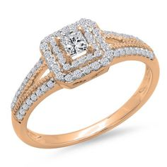 Check out engagement solitaire rings . Princess Cut Engagement Rings, Halo Diamond Engagement Ring, Solitaire Rings, Diamond Rings, Oval Engagement, Wedding Engagement, Gold Ring, Wedding Rings Vintage, Vintage Engagement Rings