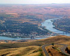Lewiston Idaho... just a peek of the old spiral highway... great riding! Find more at www.visitnorthcentralidaho.org