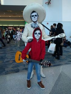 Coco Costumes Miguel Costume And Ernesto De La Cruz From The Disney S