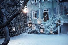 Light the dark winter
