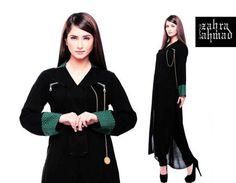Zahra Ahmed Winter Dresses 2012-2013 For Women