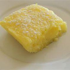 2 Ingredient lemon bars Allrecipes.com
