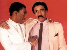 Eddie Murphy & Richard Pryor A classic iconic picture and moment. www.larrywood.us