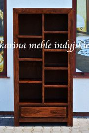 biblioteczka NAC-F09-524 brown