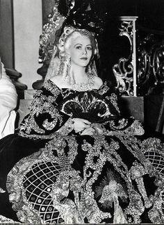 """Gladys George in """"Marie Antoinette"""", 1938"""