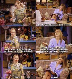 Friends - Phoebe and Rachel