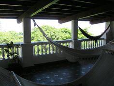 Front porch living in Panama (Kalu Yala intern house in Bella Vista)