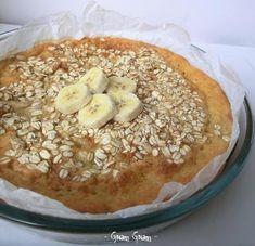 Torta rustica con banane e avena | Ricetta