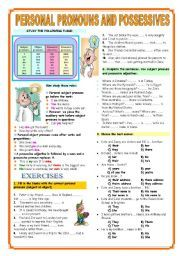 english worksheet subject object personal pronouns worksheets pinterest english. Black Bedroom Furniture Sets. Home Design Ideas