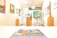 Vista de la exposición en la sala de arte Nov