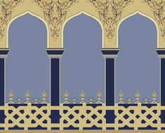 Islamic Motifs, Islamic Tiles, Mughal Architecture, Architecture Design, Eid Mubarak Hd Images, Oriental, Dots Design, Album Design, Traditional Paintings