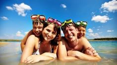Buy Family at the sea by Pressmaster on PhotoDune. Happy parents with their sons swimming together Acrylic Picture Frames, Hanging Picture Frames, Black Picture Frames, Family Tree Frame, Happy Parents, Happy Family, Happy Photos, Cherished Memories, Next Holiday