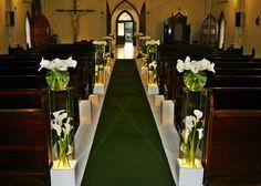 Decoração de Casamento no Convento Santíssima Trindade
