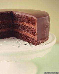How to Make Ganache Recipe | Martha Stewart Living — Learn how to make ganache, a favorite chocolate recipe of pastry chefs that can be used to top cakes and cookies, coat truffles, and add a luxe finish to any special dessert.