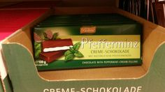 """Die Schokoladen von Böhme gehören zu Halloren. Quasi das """"AfterEight"""" aus der DDR ;-)"""