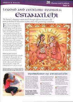 Legend and Folklore Symbols: Estanatlehi