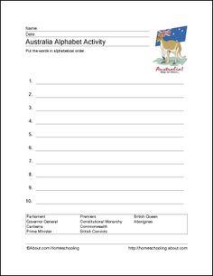 Australia Printables Australia Alphabet Activity  sc 1 st  Pinterest & Kids Crossword Puzzles - Print your animals crossword puzzle.jpg ... 25forcollege.com