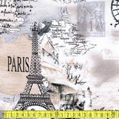 Cream Script April In Paris $0.00