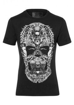 Philipp Plein - 'Skull' T-Shirt Black (FW14-HM341762-1)