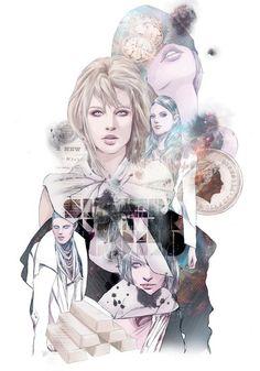 Illustration on Magazine by Ise Ananphada
